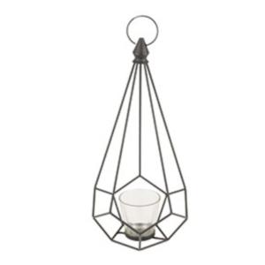 Black Geometric Lantern