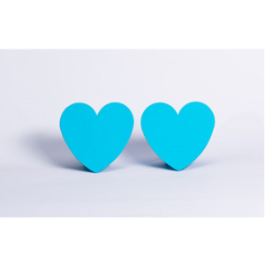 Blue Mini Heart