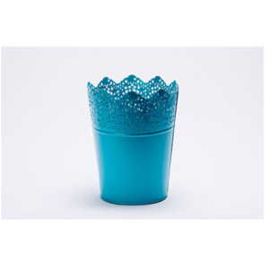 Blue Lace Bucket