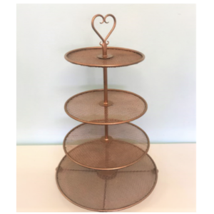 Copper Cupcake Stand
