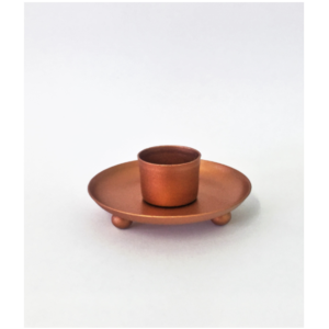 Small Copper Candle Holder