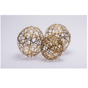 Gold Decorative Ball Set