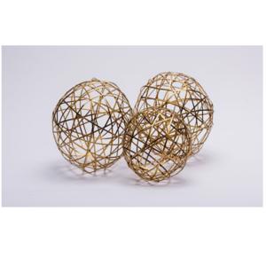 Gold Decorative Ball Set