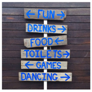 Fun Drinks Sign