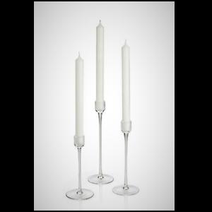Glass Taper Candlestick