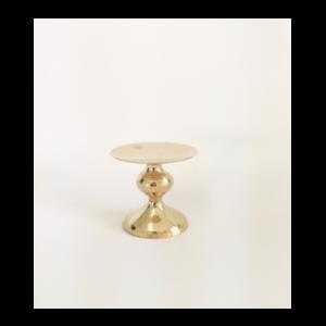 Gold Candlestick 10cm