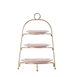 Gold & Pink Cupcake Stand