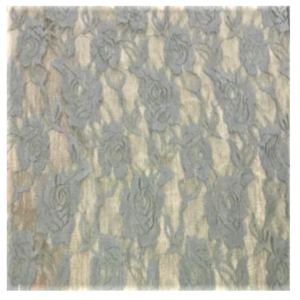 Grey Lace Runner