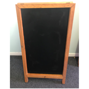 Large Wooden Chalkboard