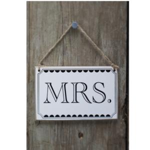 Mrs Sign