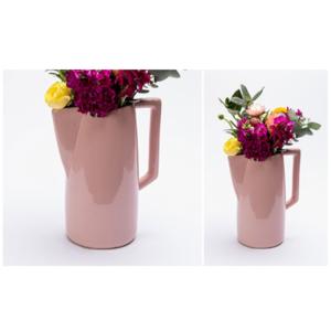 Pink Ceramic Jug