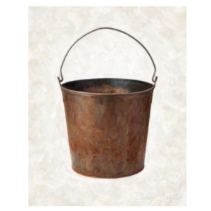 Rusted Bucket Medium
