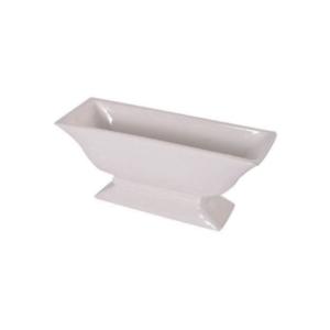 White Rectangular Vase