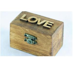 Woden Love Ring Box